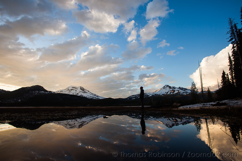 Sparks Lake Afternoon Reflection