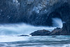 Wave Crash in Haystack Rock Arch