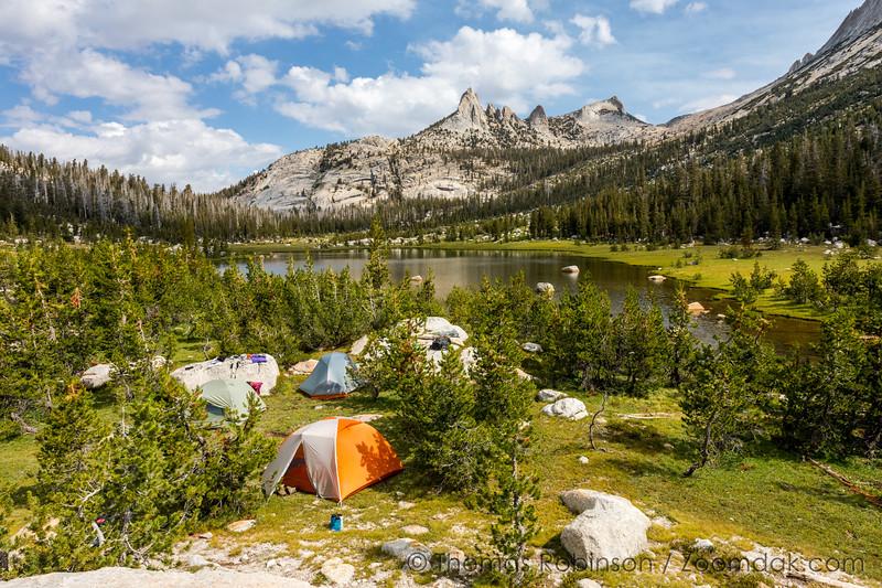 Camping at Echo Lake
