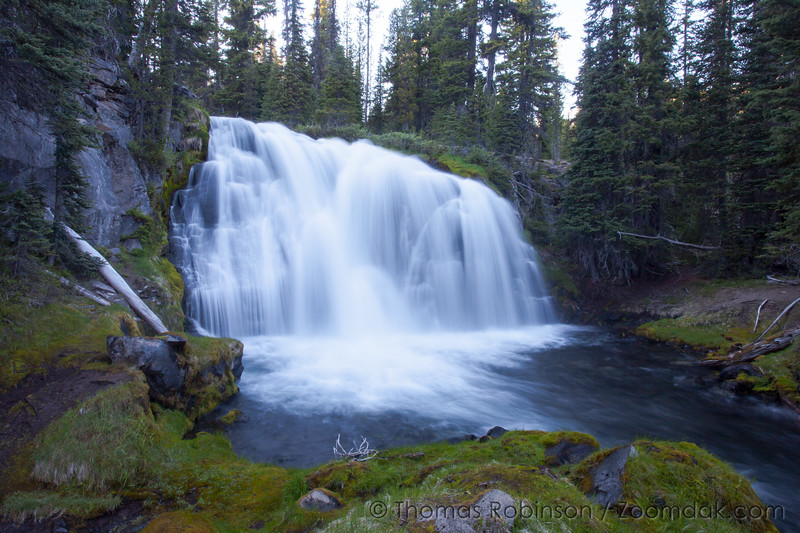 Fall Creek Falls at Green Trails