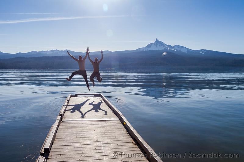 Diamond Lake Jump