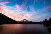 Sunset Skies over Trillium Lake