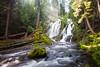 National Creek Falls near Crater Lake, Oregon