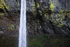 A close up of Elowah Falls, a 213 foot falls in the Columbia River Gorge.