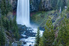 Tumalo Falls in Blue and Green
