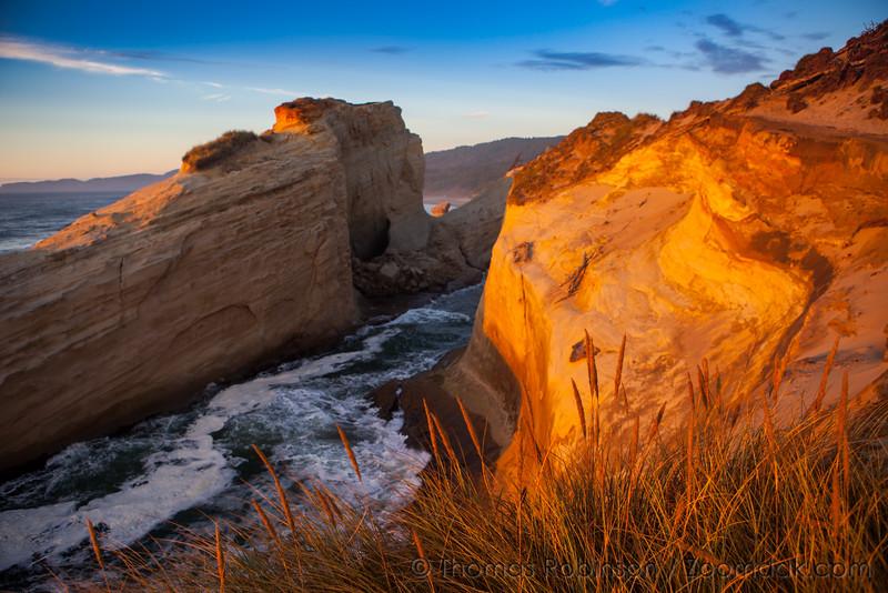 Sunset Cliffs at Cape Kiwanda