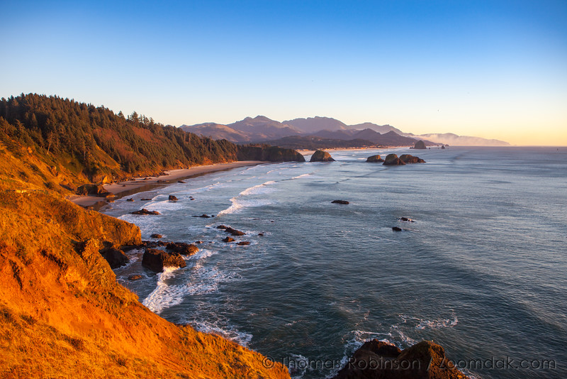 Sunset at Ecola State Park