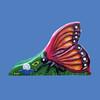 """Butterfly Slide, 10'L x 6'6""""H #9169"""