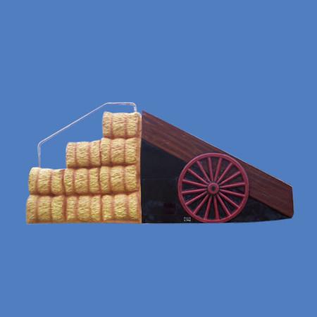 "Hay Wagon Slide, 5'6""H x 11'L #9152"