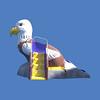 Baby Eagle Slide, 6'H x 8'L #9153