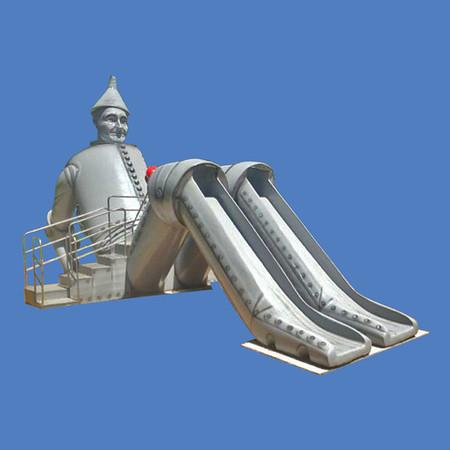Tin Man Slide, 27'L #9204