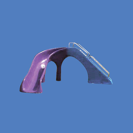 """Special Curved Slide, 5'10""""W X 13'L  #9119"""