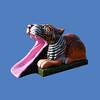 """Tiger Slide, 11'2""""L x 6'1""""H #9144"""