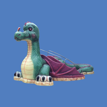 "Friendly Dragon Slide, 15'L X 7'6""H #9028"