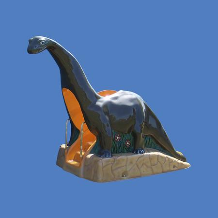 Dinosaur Slide, 12'L X 9'H #9163