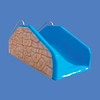 Rock Look Tot Slide, 4'W  #9064<br /> Rock Look Tot Slide, 8'W  #9046