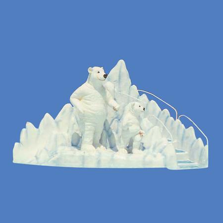Ms. Polar Bear Slide, 15'L x 8'H #9035