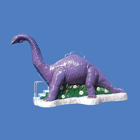 Giant Dinosaur Slide, 19'L x 11'H #9015