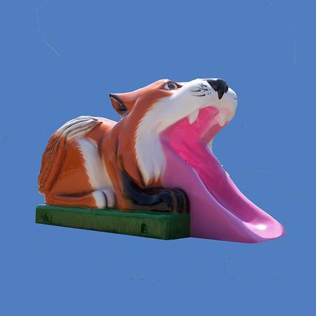 "Fox Slide, 11'2""L x 6'1""H #9209"