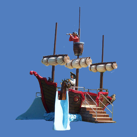 "Pirate Ship Play, 22'9""L Unit #9059"