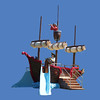 Pirate Ship Play Unit #9059