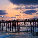 Oceanside pier 3, @ R  Hansen 2015