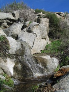 Waterfall, Lakeview Mountains, 16 Jan 2005
