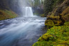 Koosah Falls and the  McKenzie River