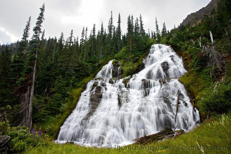 Royal Basin Falls, Olympic National Park