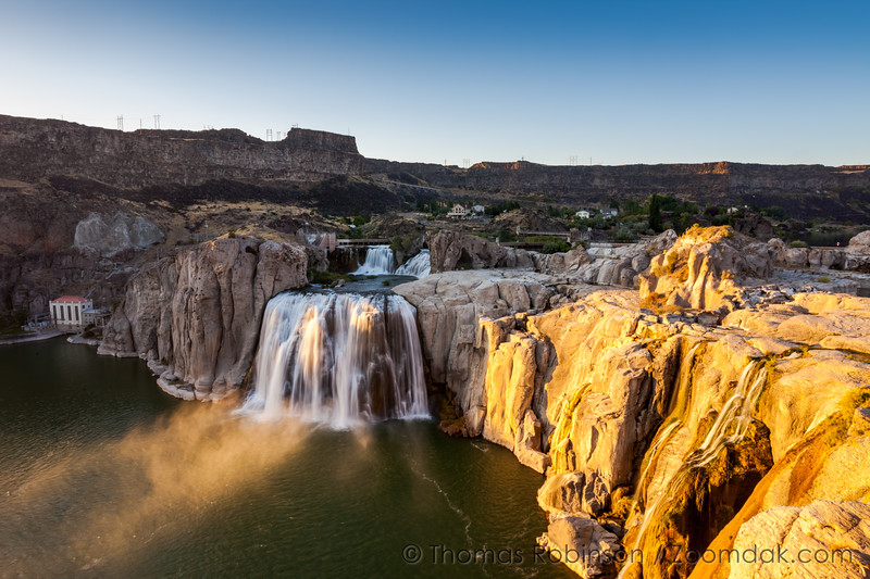 Shoshone Falls at Sunset
