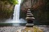 Abiqua Falls Balanced Stones