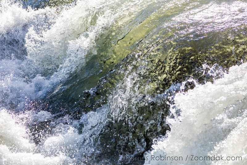 Dillon Falls Frozen Motion