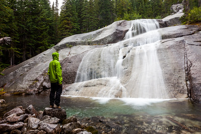 Upper Snow Creek Falls Portrait