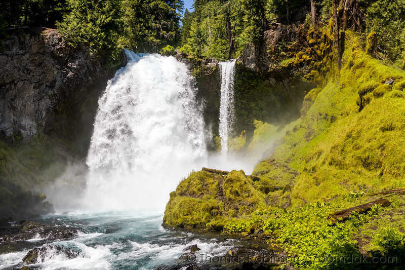 Summer Melt at Sahalie Falls