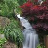 Schnormeier Garden waterfall
