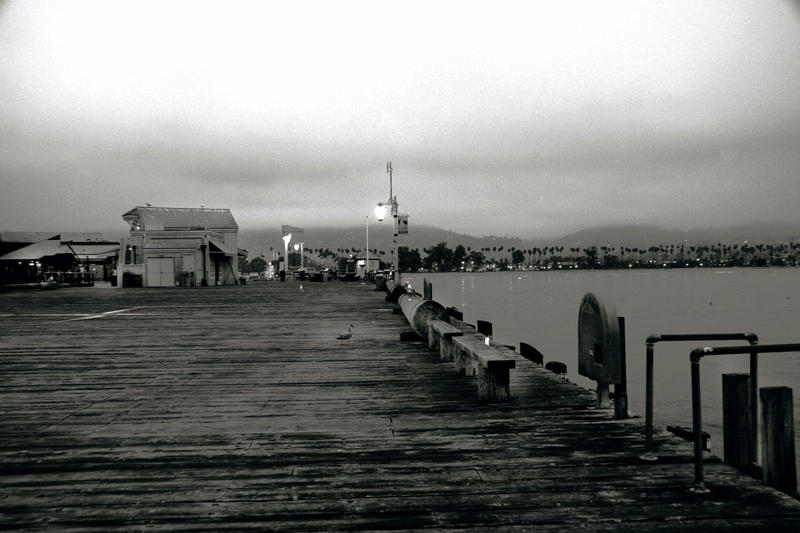 Stearns Wharf at Dawn