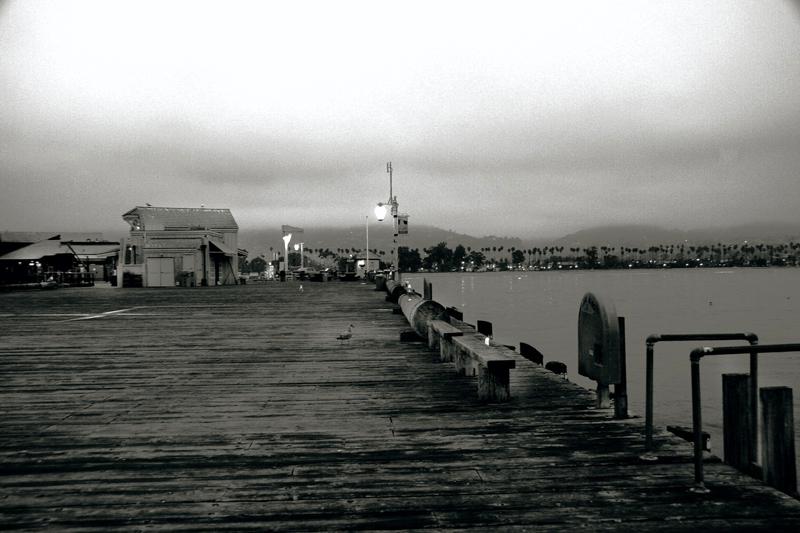 Stearns Wharf at Dawn