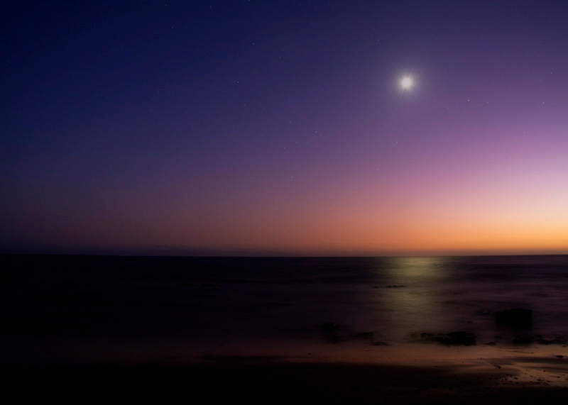 Fall Sunset at Hendry's Beach