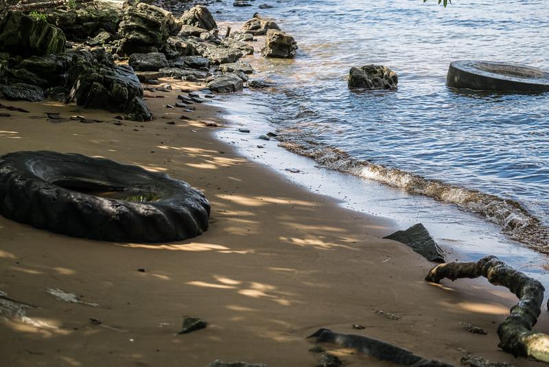 National Park, NJ. Delaware River. August 2015