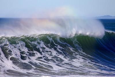 Rainbow Wave Curl