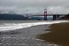 The Golden Gate Bridge in San Franscisco