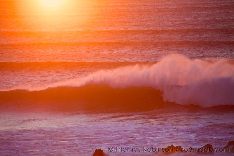 Maroon Waves, Oregon Coast