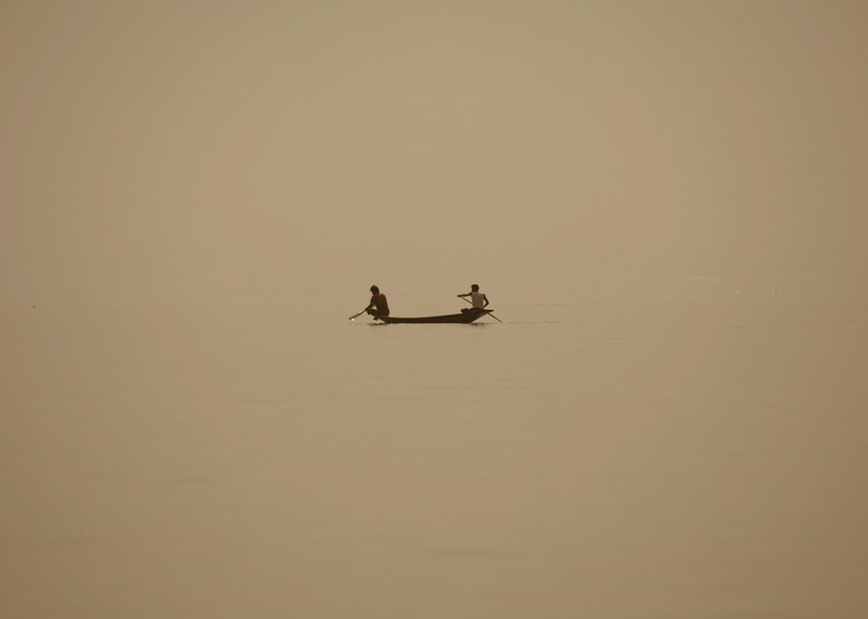 Inle Lake ~ Early Morning Rowers