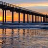 Scripps Pier Sunset