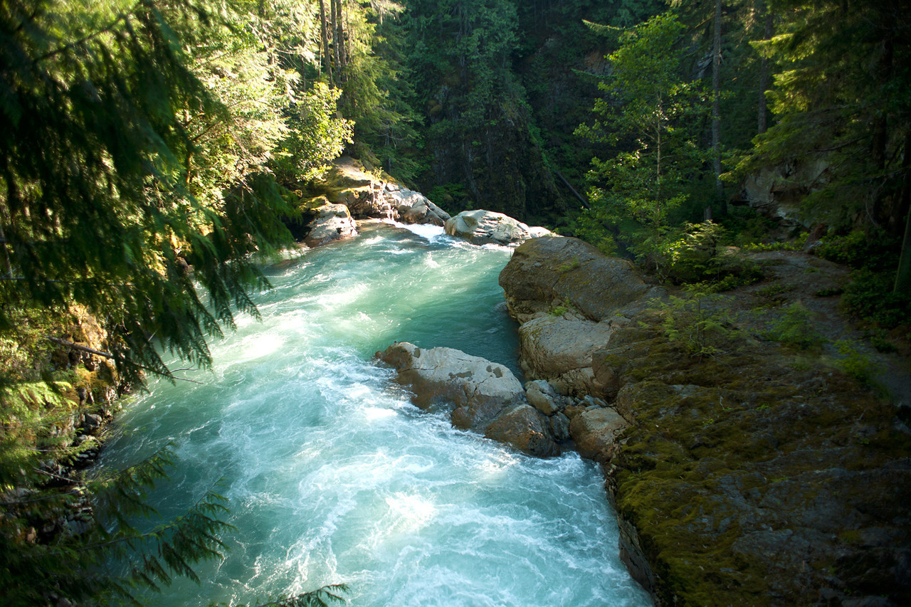 Nooksak Falls, Mt Baker Wilderness