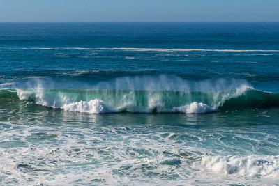 Waves of California Coast