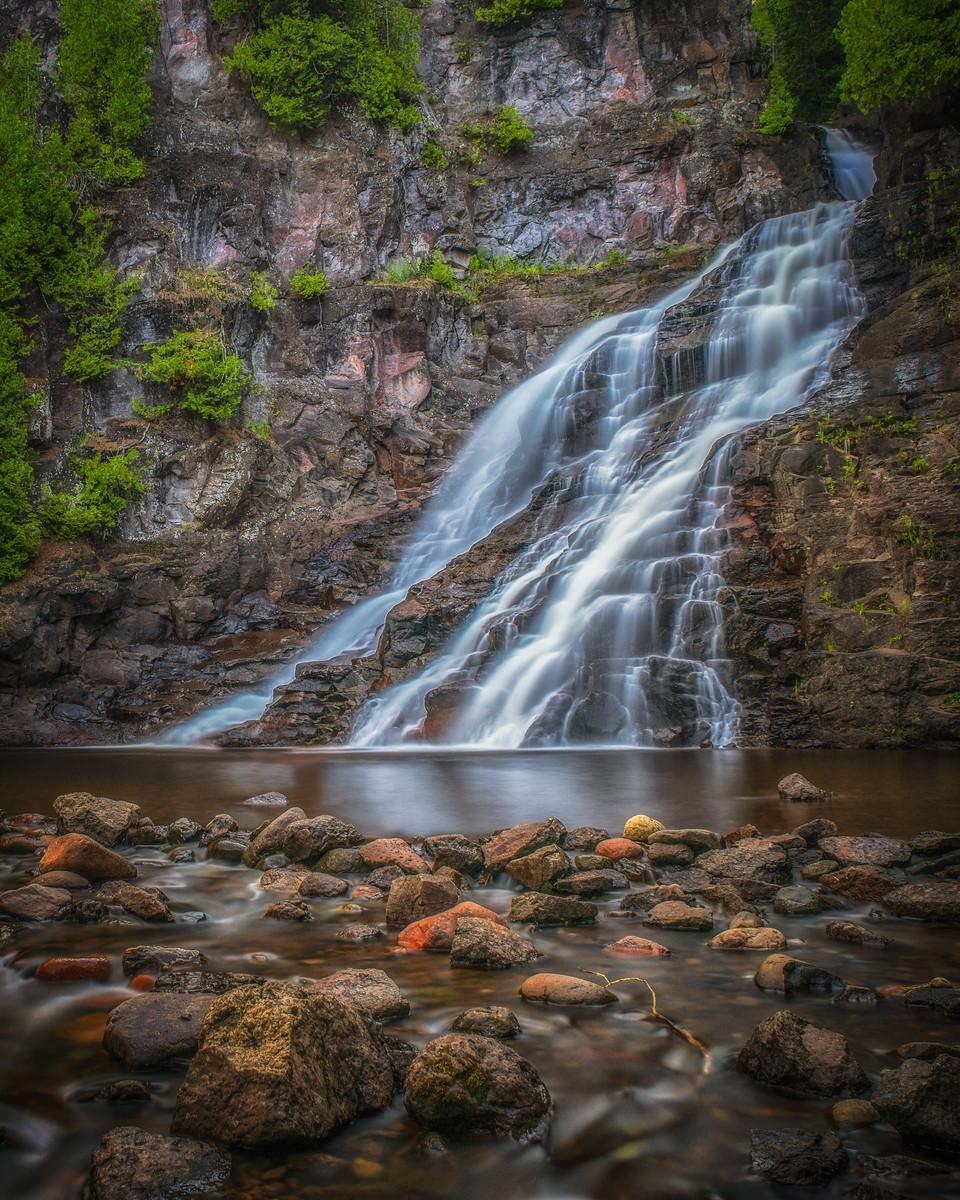 Caribou Falls, near Tofte, Minnesota.