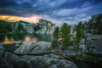 Sylvan Lake Lightning