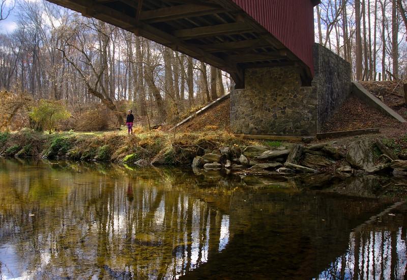 1107 - Kurtz Mill Covered Bridge - Backyard Tourist