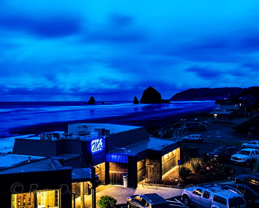 Cannon Beach Coastal Nightscape